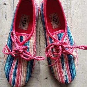NEW Ugg Pink Muti Ked Style